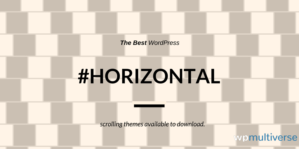 11 Best Horizontal Scrolling WordPress Themes (2018 Compared ...