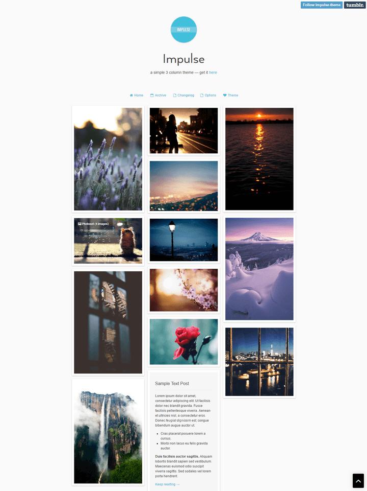 Impulse Tumblr