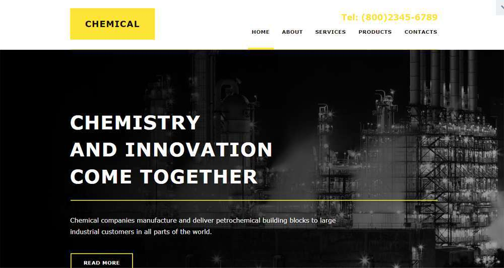 Industrial Muse Template
