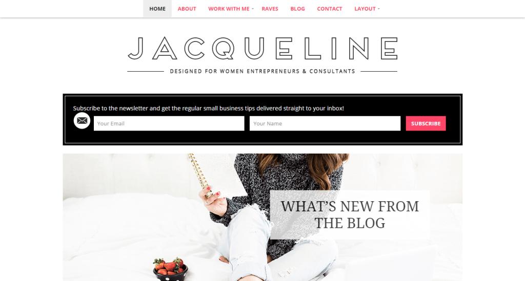 Jacqueline Theme
