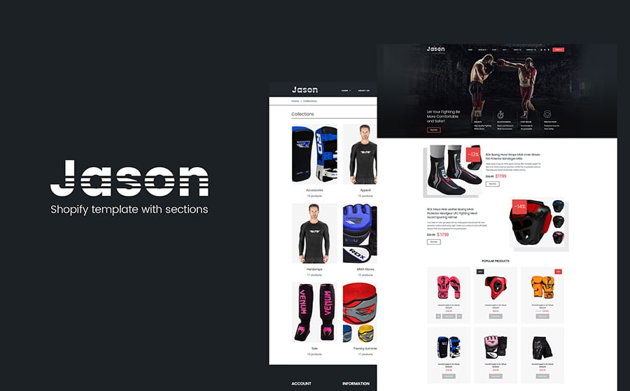 Jason Shopify Theme