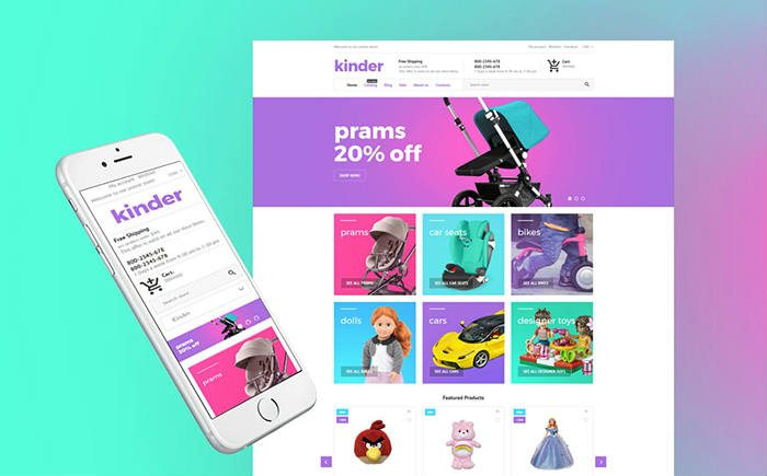 Kinder Toy Store Shopify Theme