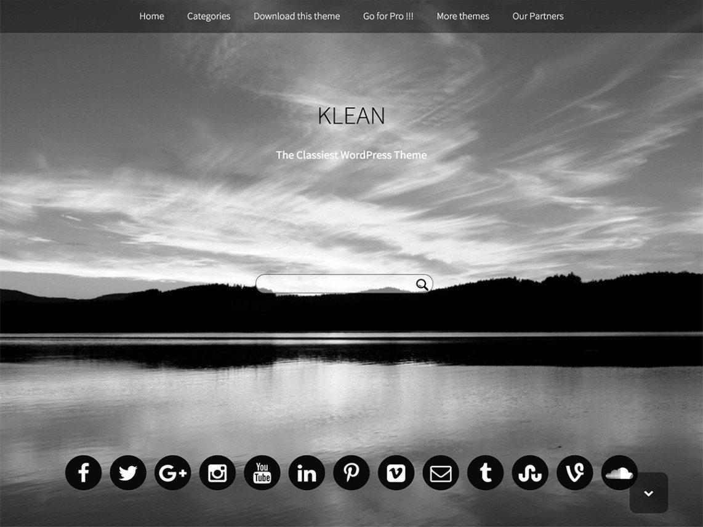 Klean Theme