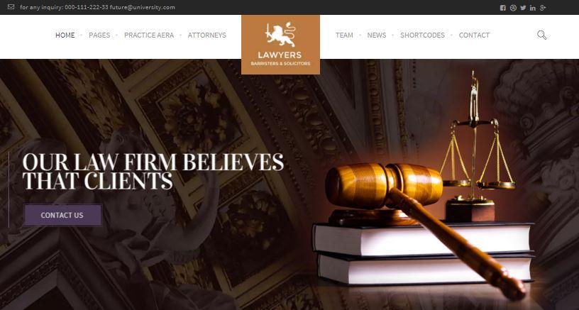 Law Practice Theme