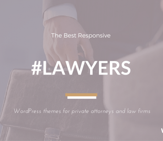Best Lawyers WordPress Themes for Law Firms & Attorneys 2018