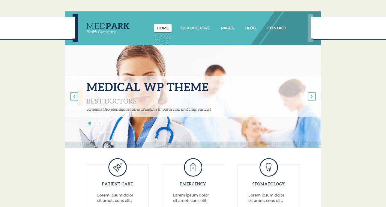 MedPark theme