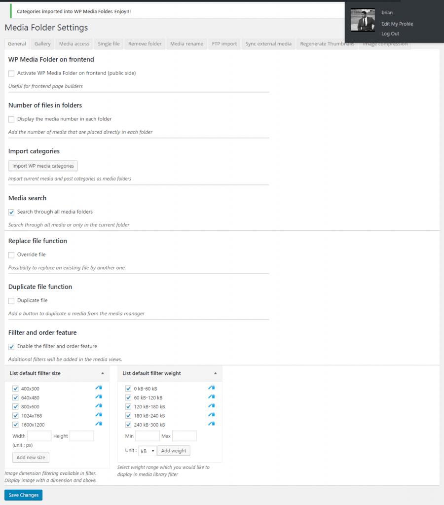 media-folder-options