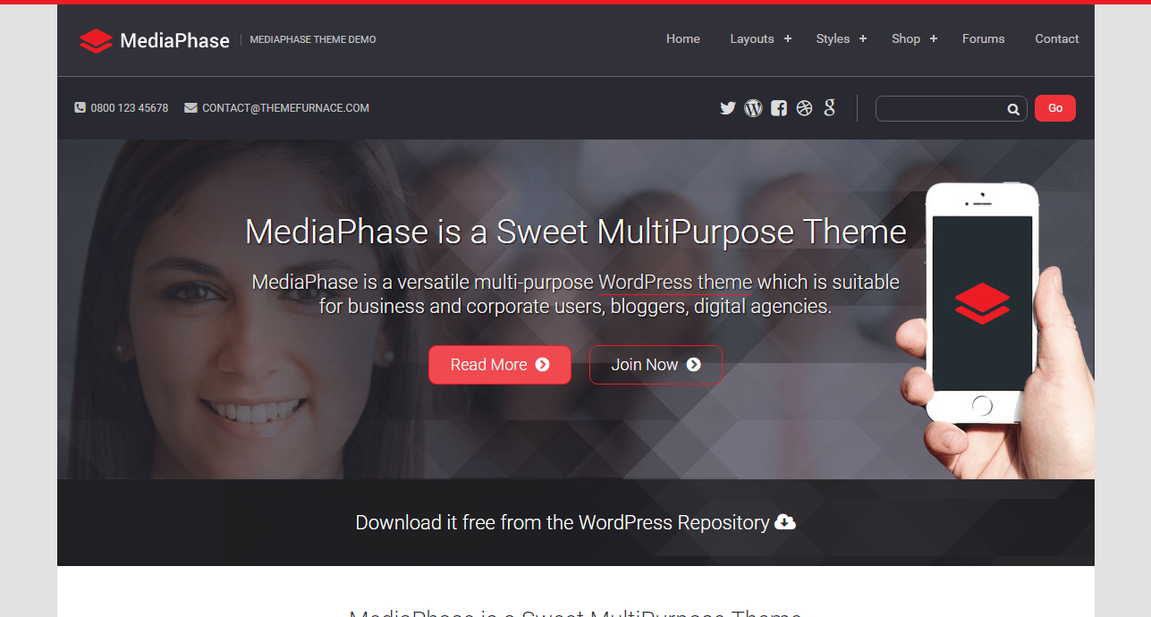 MediaPhase Theme