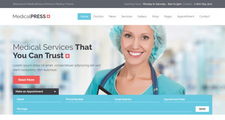 MedicalPress Theme