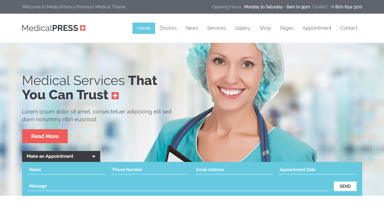MedicalPress Theme