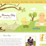 Mommy Blog Theme