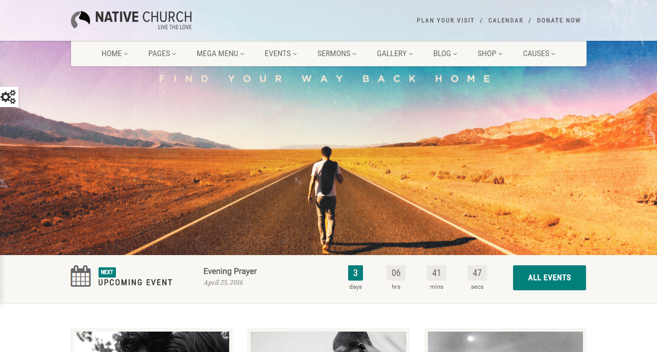 NativeChurch Theme