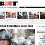 News and Current Affair Blog Wix Template