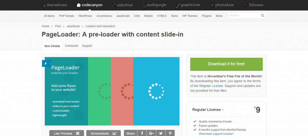 pageloader-content-slide-plugin
