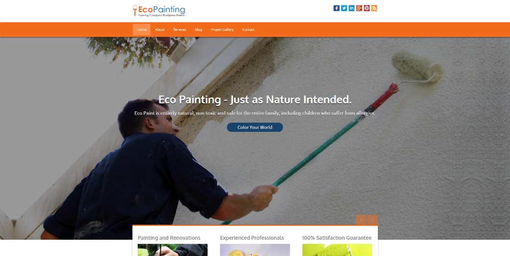 EcoPainting Theme