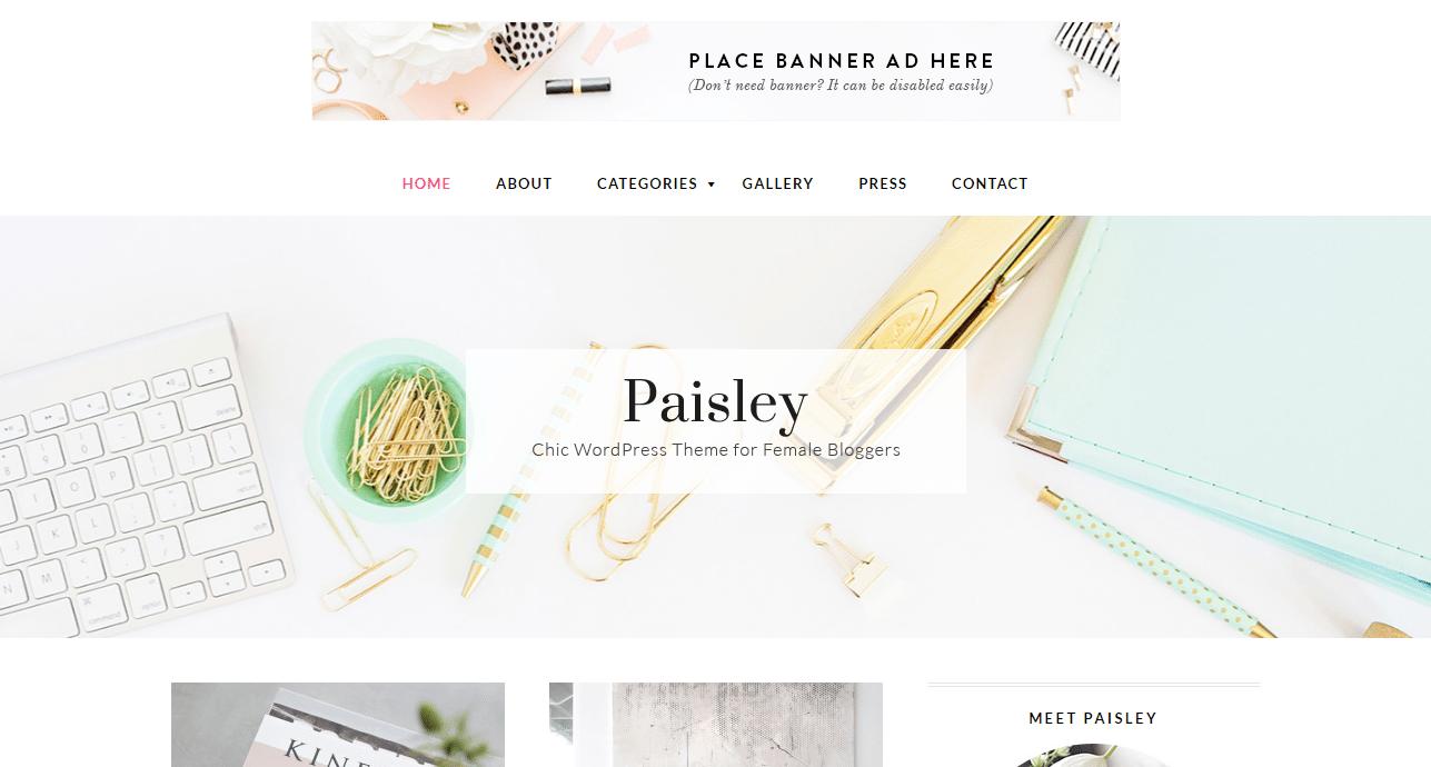 Paisley Theme