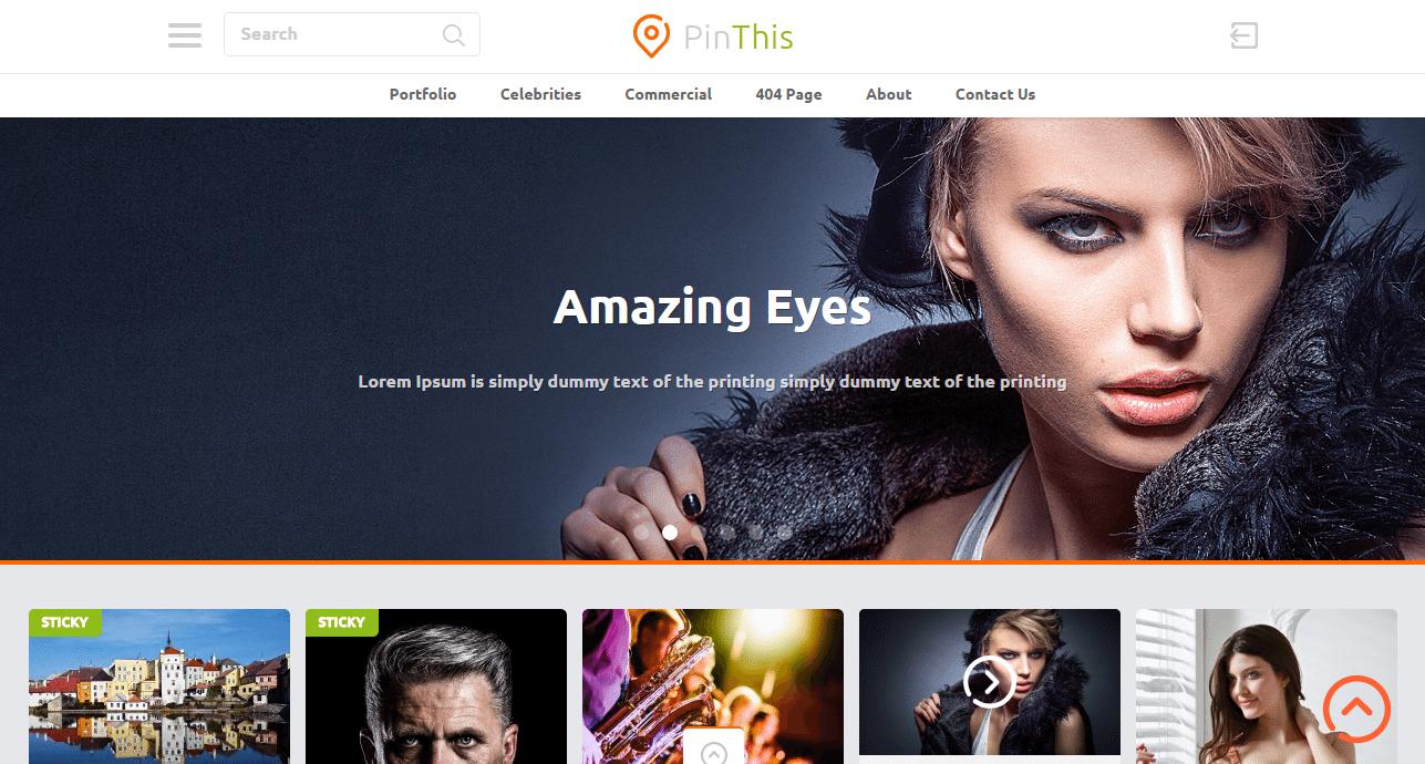 PinThis Theme