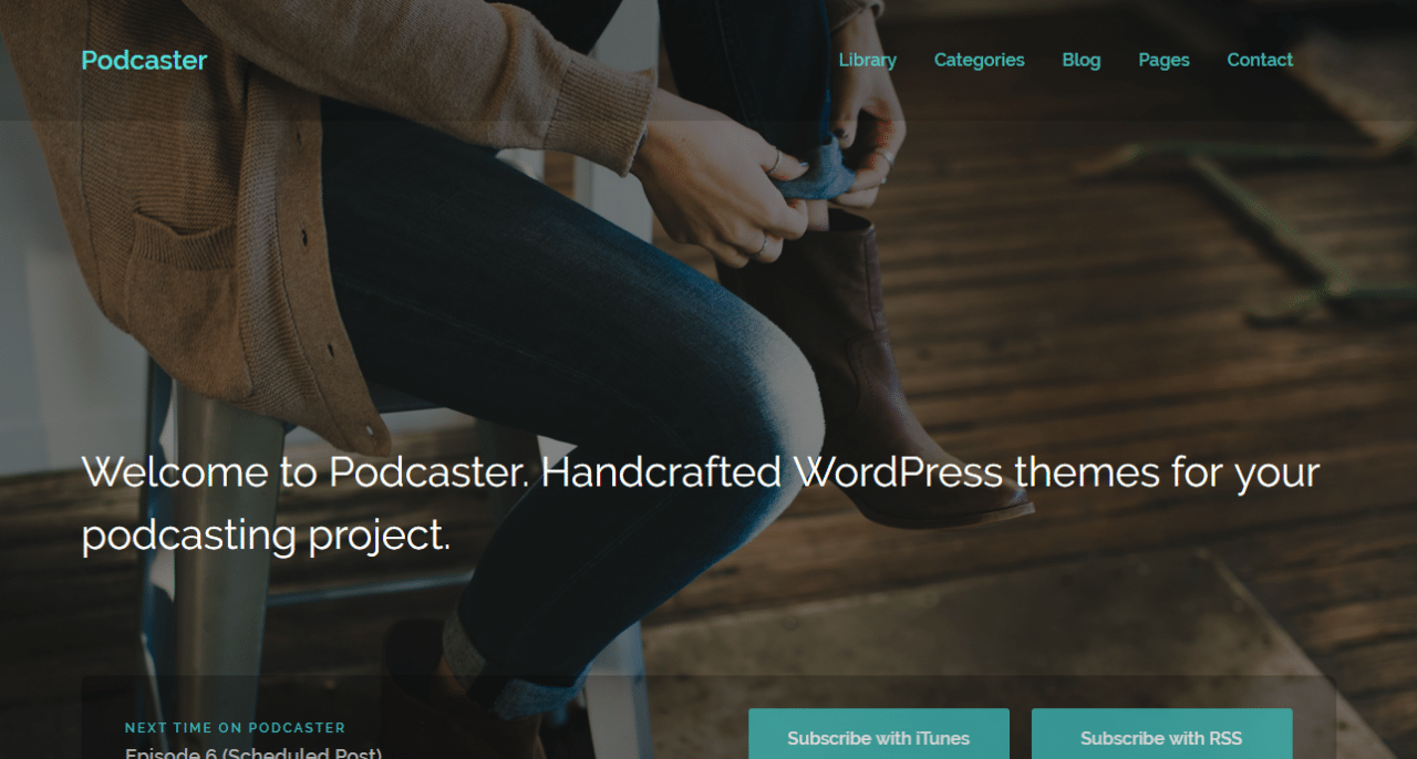 Podcaster Theme