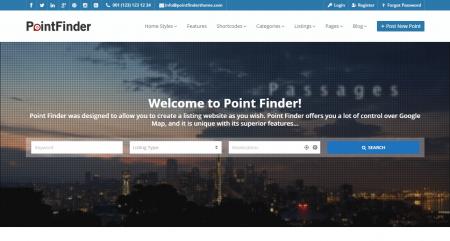 Point Finder Theme