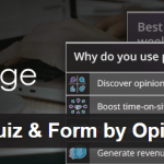 Poll, Survey, Quiz & List by OpinionStage
