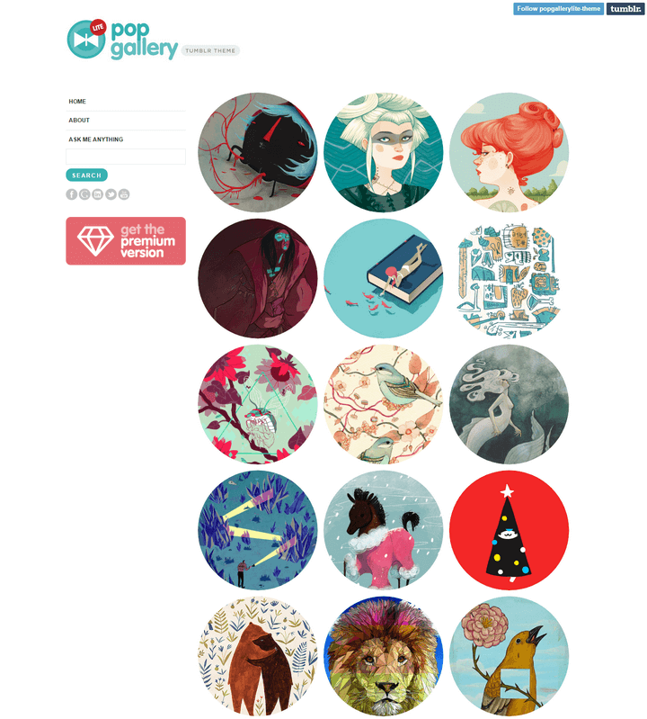 Pop Gallery Lite Tumblr