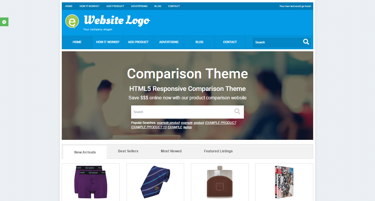 Price Comparison Theme
