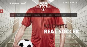 Real Soccer WP Theme