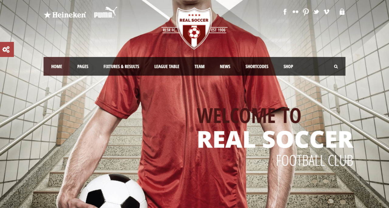 Real Soccer Theme