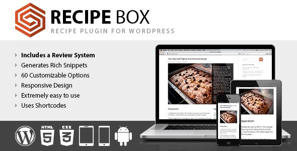 Recipe Box WordPress Plugin Download & Reviews 2019