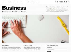 79 best free business wordpress themes 2018 softwarefindr free business theme responsive flashek Gallery