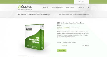 SEO Redirection Premium WordPress Plugin