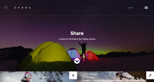 Share WP theme