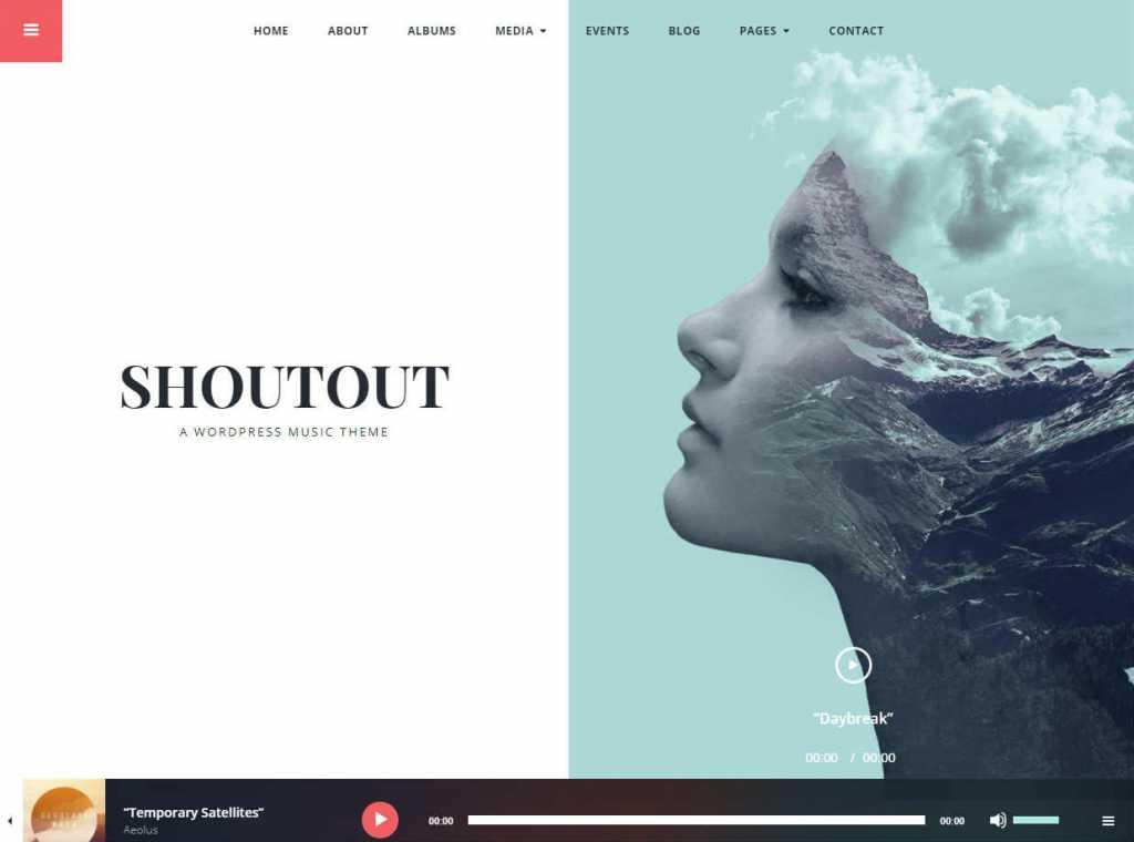 ShoutOut Theme