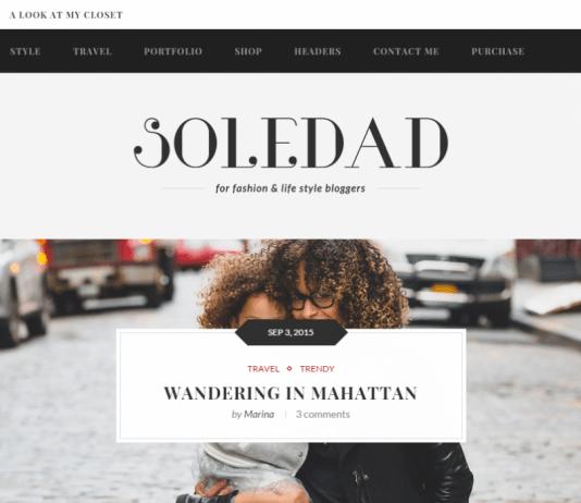 Soledad Fashion WordPress Theme