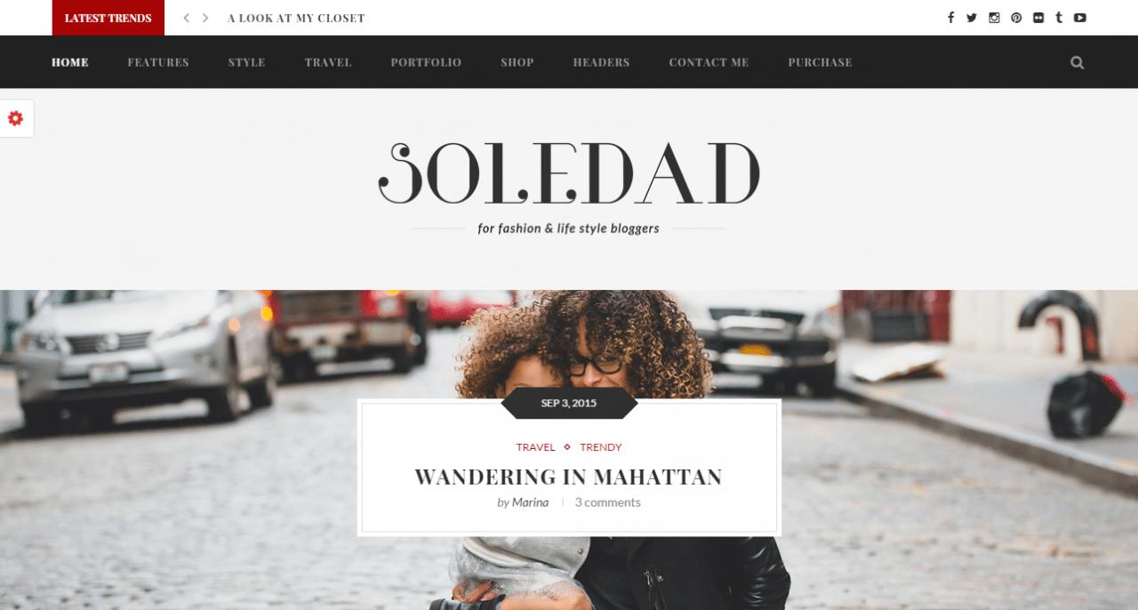 Soledad Theme