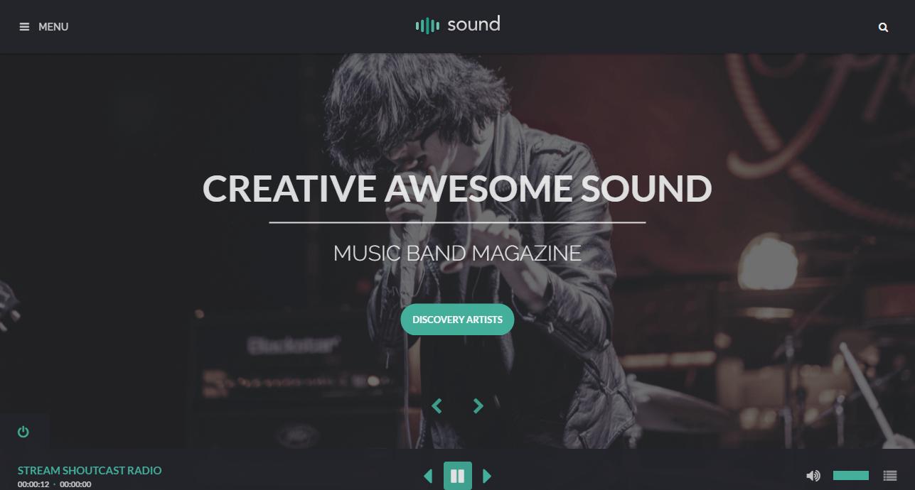 Sound Music Theme