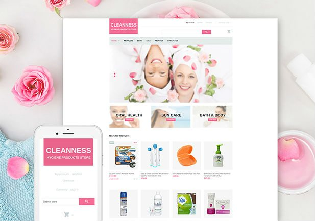 Spa Shopify Theme