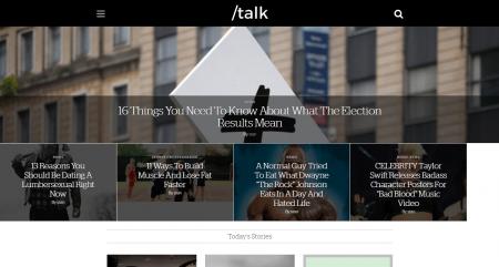 Talk Mag Theme