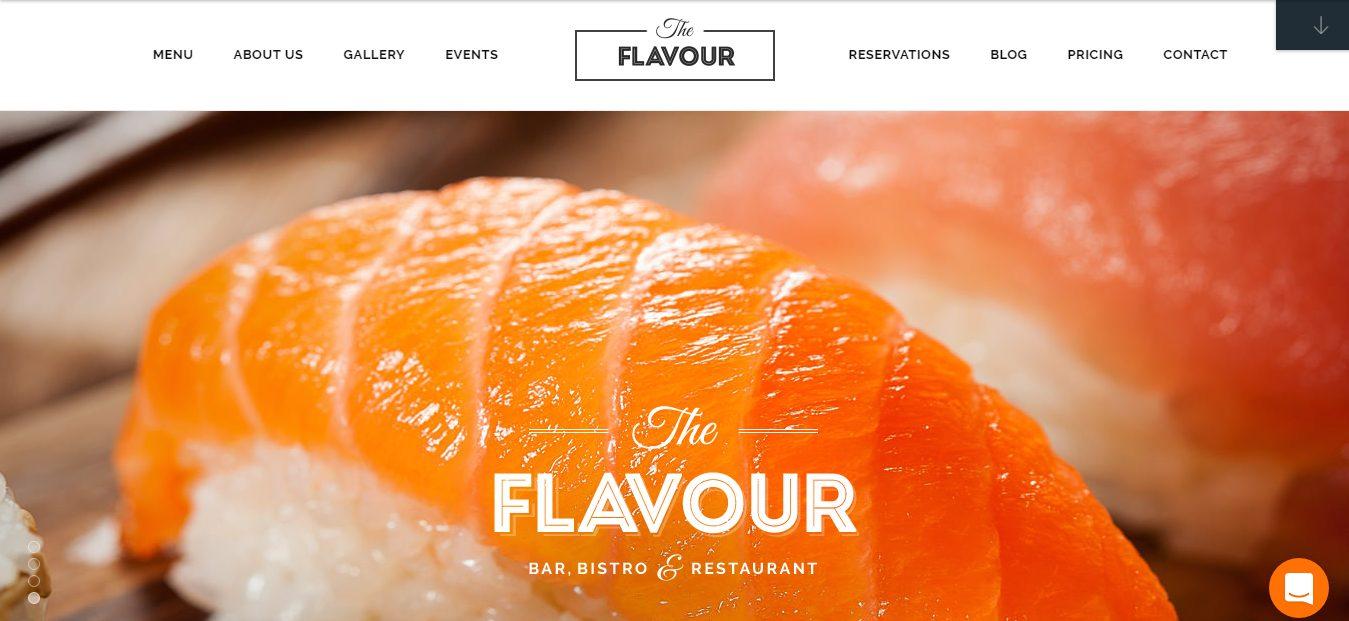The Flavour Theme