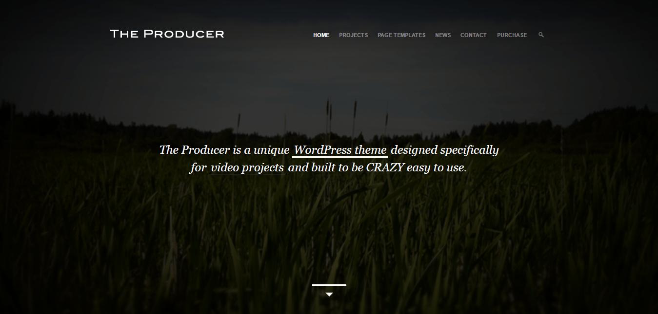The Producer Theme
