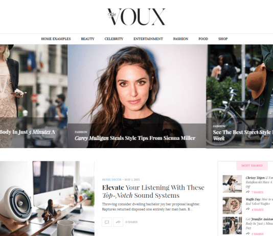 Best Fashion WordPress Themes 2018