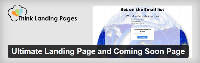 Landing Page Plugin