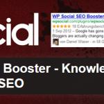 WP Social SEO booster