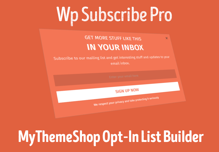 WP Subscribe Pro