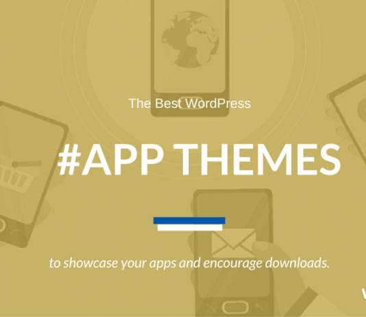 Best WordPress App Themes 2019