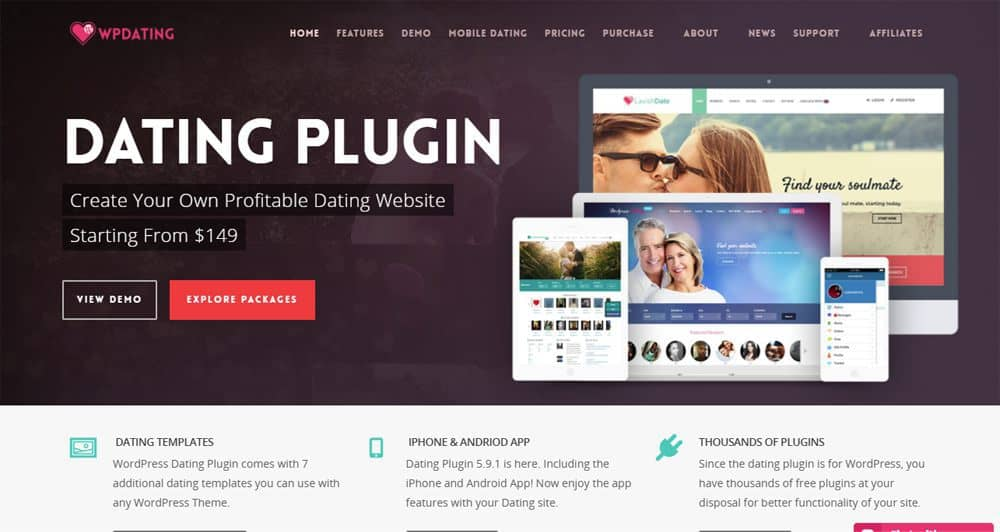 matchmaking WordPress plugin enkel dating profiler