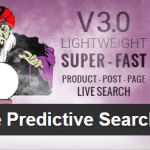 WooCommerce Predictive Search