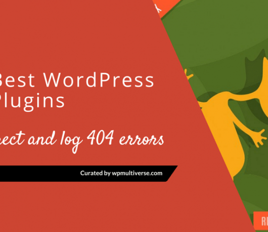 Best WordPress 404 Plugins – Redirect & Log 404 errors 2020