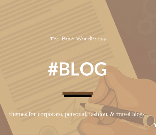 Best Free WordPress Themes for Blogs 2019