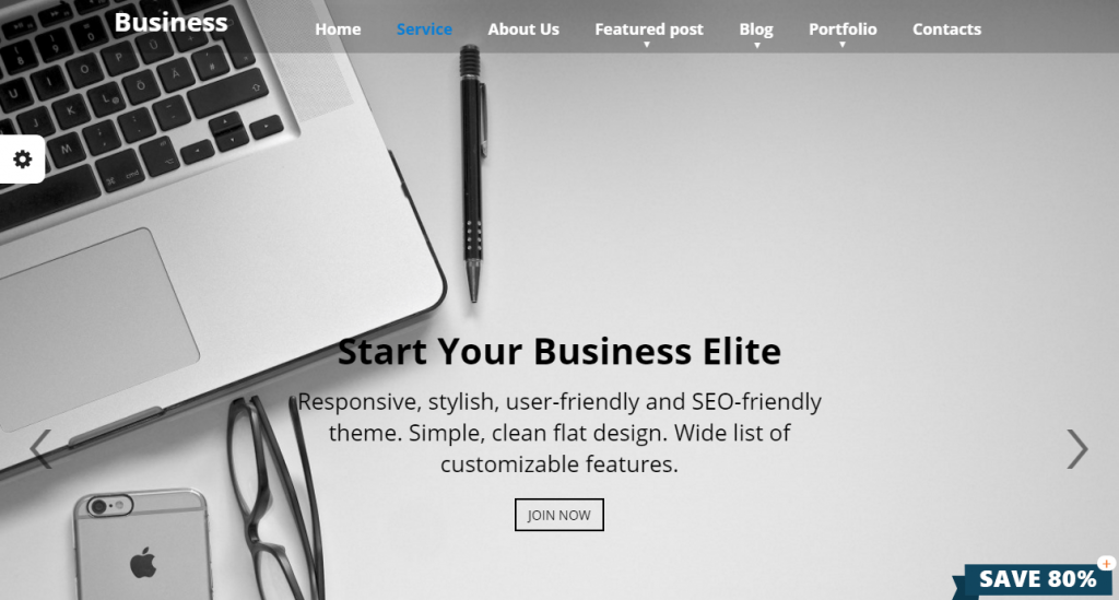 Business Elite Theme